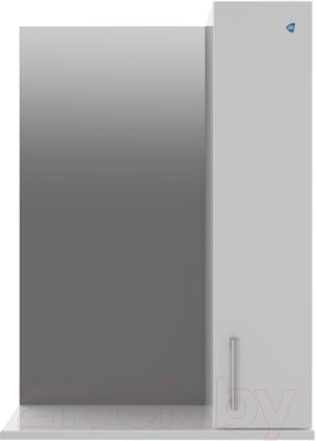 Шкаф с зеркалом для ванной АВН Эко+ 50 / 13.35 (3)