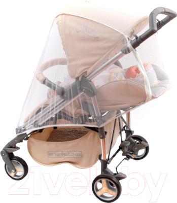 Москитная сетка для коляски Bambola Универсальная москитные сетки bambola универсальная на молнии на весь купол