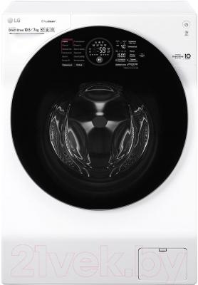 Стирально-сушильная машина LG TrueSteam FH4G1JCH2N