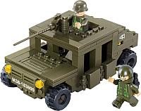 Конструктор Sluban Армия. Военный Хаммер / M38-B0297 -