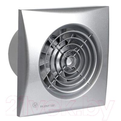 Вентилятор вытяжной Soler&Palau Silent-100 CZ Silver / 5210415500