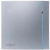 Вентилятор вытяжной Soler&Palau Silent-100 CRZ Silver Design - 3C / 5210603500 -
