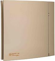 Вентилятор вытяжной Soler&Palau Silent-100 CZ Champagne Design - 4C / 5210607200 -