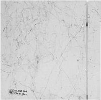 Вентилятор вытяжной Soler&Palau Silent-100 CZ Marble White Design - 4C / 5210612000 -