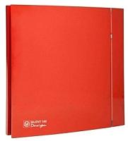Вентилятор вытяжной Soler&Palau Silent-100 CZ Red Design - 4C / 5210611800 -
