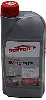 Моторное масло Patron Original 5W40 PI C3 (1л) -