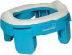 Дорожный горшок Roxy-Kids HandyPotty дорожный / HP-250B (голубой) -