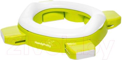 Дорожный горшок Roxy-Kids HandyPotty дорожный / HP-250GR (лайм)
