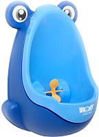 Детский писсуар Roxy-Kids С прицелом / RBP-2129 (синий/голубой) -