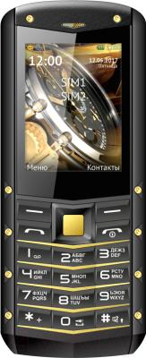 Мобильный телефон Texet TM-520R (черный/желтый)