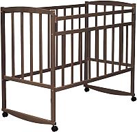 Детская кроватка VDK Magico Mini / Кр1-02м (темный орех) -