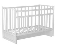 Детская кроватка VDK Magico Mini / Кр1-03м (белый) -