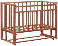 Детская кроватка VDK Magico Mini / Кр1-03м (темный орех) -