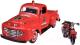 Масштабная модель автомобиля Maisto Форд F-1 Пикап (мод.1948) Пожарная с мотоциклом / 32191 -