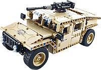 Радиоуправляемая игрушка Qihui Конструктор. Армейский джип / 8014 -