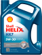 Моторное масло Shell Helix HX7 5W30 (4л) -