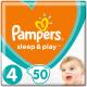 Подгузники детские Pampers Sleep&Play 4 Maxi Jumbo Pack (50шт) -