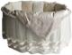 Комплект постельный в кроватку Lappetti Эстель / 5034/4 (бежевый) -