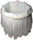 Комплект постельный в кроватку Lappetti Эстель / 5034/3 (бирюзовый) -