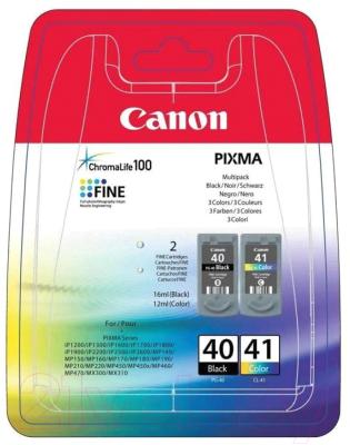 Комплект картриджей Canon PG-40+CL-41 (0615B043)