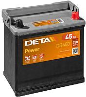 Автомобильный аккумулятор Deta Power DB450 (45 А/ч) -