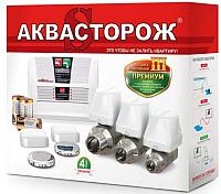 Система защиты от протечек Аквасторож ТН25 Классика Радио 2x20 -