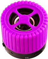 Портативная колонка Ginzzu GM-988V (фиолетовый) -