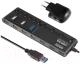 USB-хаб Ginzzu GR-380UAB -