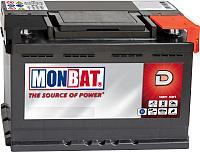 Автомобильный аккумулятор Monbat A67B2W0_1 низкий (65 А/ч) -