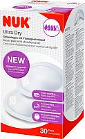 Прокладки для бюстгальтера NUK Ultra Dry 10252123 (30шт) -