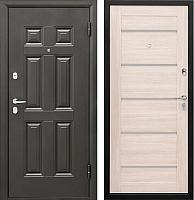 Входная дверь Промет Виктория Царга беленый дуб (98x206, правая) -