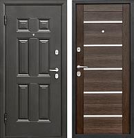 Входная дверь Промет Виктория Царга венге (98x206, левая) -
