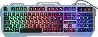 Клавиатура Nakatomi KG-35U (серебристый) -
