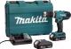 Профессиональная дрель-шуруповерт Makita HP457DWE -
