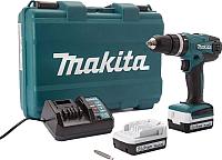 Профессиональная дрель-шуруповерт Makita HP347DWE -