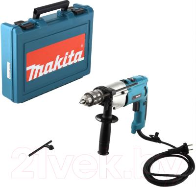 Профессиональная дрель Makita HP2070F