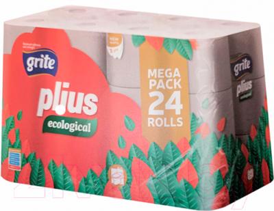 Туалетная бумага Grite Plius Ecologica (24рул)