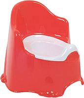 Детский горшок Dunya Комфорт 11111 (красный) -