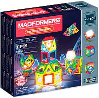 Конструктор магнитный Magformers Neon LED Set / 709007 (31эл) -