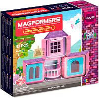Конструктор магнитный Magformers Mini House Set / 705005 (42эл) -