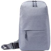 Рюкзак Xiaomi Mi City Sling Bag (светло-серый) -