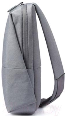 Рюкзак Xiaomi Mi City Sling Bag (светло-серый)