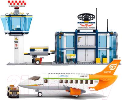 Конструктор Sluban Международный аэропорт / M38-B0367