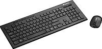 Клавиатура+мышь Canyon CNS-HSETW4-RU (черный) -