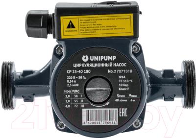 Циркуляционный насос Unipump CP 25-40 180 насос unipump cp 25 60 180