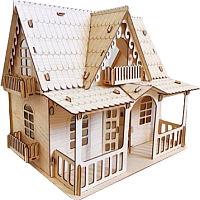 Кукольный домик POLLY Country house ДК-3 -