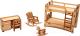 Комплект аксессуаров для кукольного домика POLLY Детская ДК-1-01 -