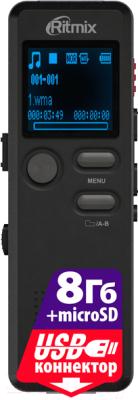 Цифровой диктофон Ritmix RR-610 8Gb