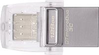 Usb flash накопитель Kingston Data Traveler microDuo 3C 128GB (DTDUO3C/128GB) -