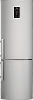 Холодильник с морозильником Electrolux EN3854NOX -